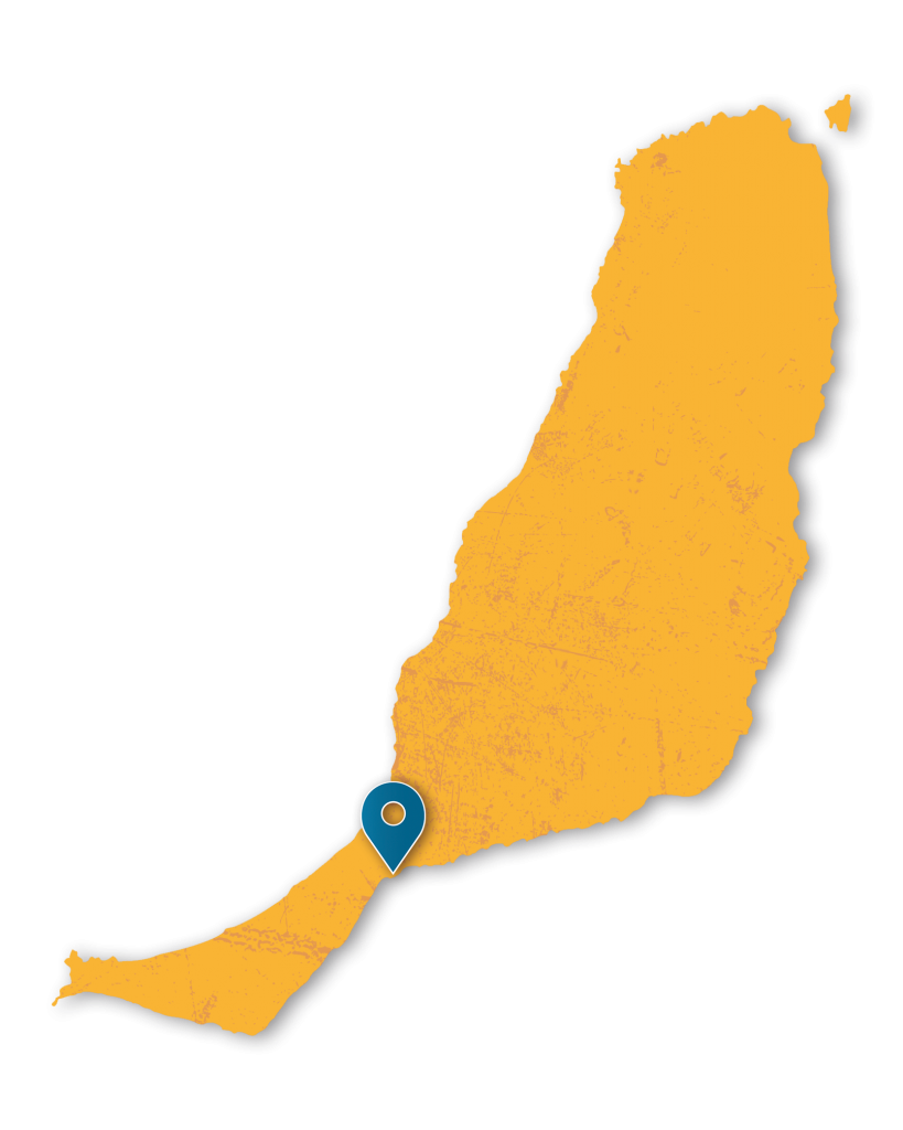 Lage Costa Calma Karte