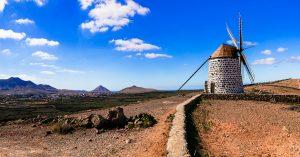 La Oliva Windmühle Fuerteventura