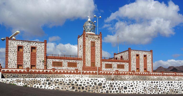 Leuchtturm Faro de la Entallada im Las Playitas