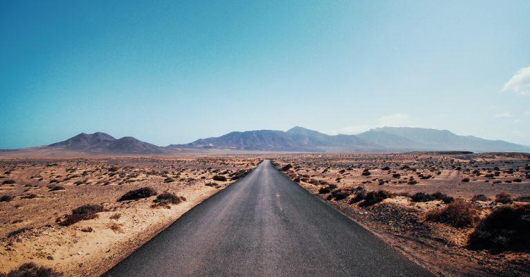 Straße Fuerteventura