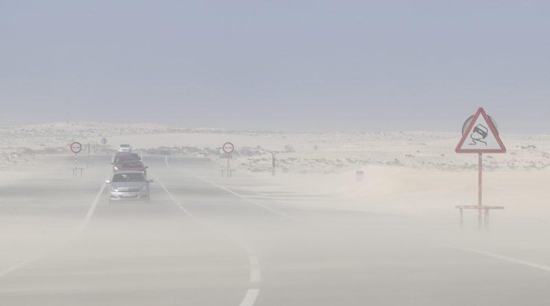 Sandsturm Calima