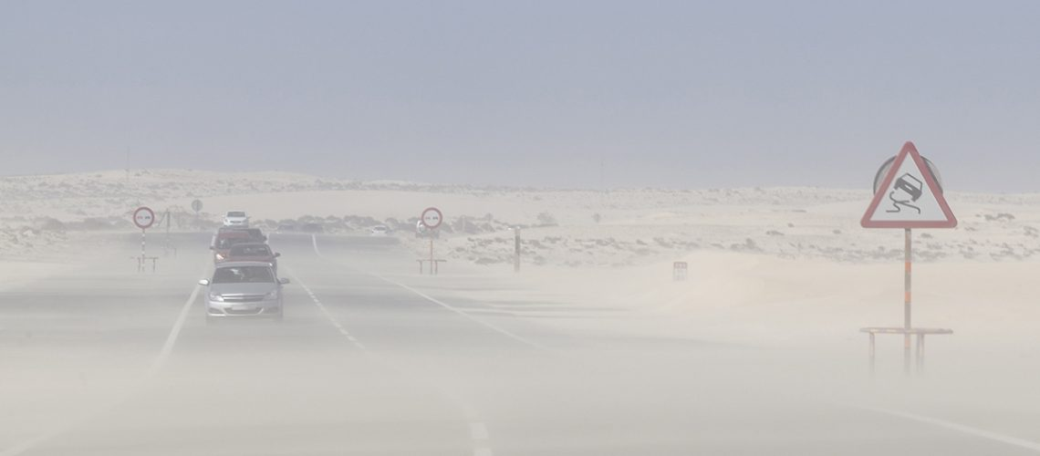 Sandsturm Auf Fuerteventura